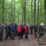 Skovhistorisk Selskab i Riis Skov 8. okt. 2011 Foto A. Vestergaard