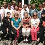 Skovvandring for Benedicte Krogh 21. juni 2012 Riis Skov