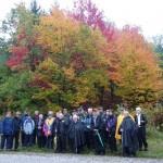 SKOVHOLD I HARZEN. Deltagere m. skovrider Børge H. Larsen uge 42 2012