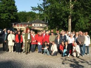 Skovrider Kjeld Ladefogeds fodspor 1977 i Riis Skov d 22. maj 2008