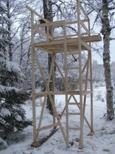 Observationstårn.