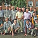Skovfogedeksamens hold 1964 til 45 års jubilæum på Asmildkloster