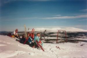 Alpinski på Skärsjövålen